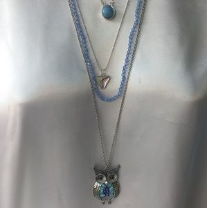 Layering necklace set by Arizona jeans co.